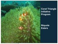 Coral Triangle Initiative Update