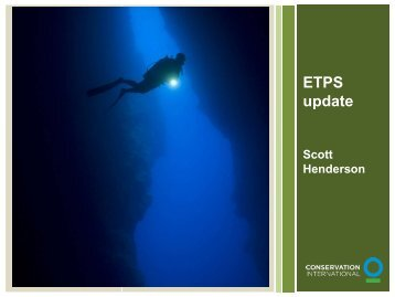 Eastern Tropical Pacific Seascape Update