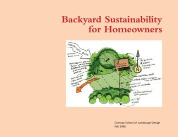 Backyard Sustainability for Homeowners - Wild Ones Niagara Falls ...