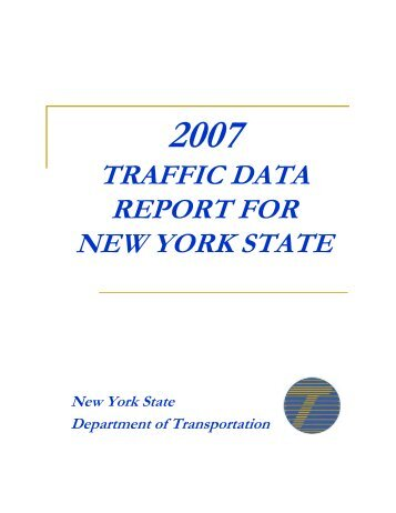 2007 NYSDOT Traffic Report - Wild Ones Niagara Falls and River ...