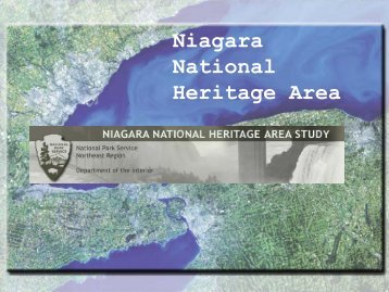 Niagara National Heritage Area - Wild Ones Niagara Falls and River ...