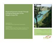 Regional Economic Growth Through Ecological Restoration of the ...