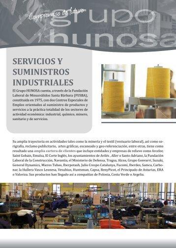 ServicioS y SuminiStroS induStrialeS - MetaSpace Portal