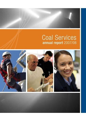 Coal Services Annual Report 2007 - 2008