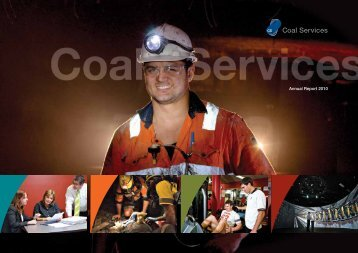 Coal Services Annual Report 2009 - 2010