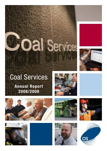 Coal Services Annual Report 2008 - 2009