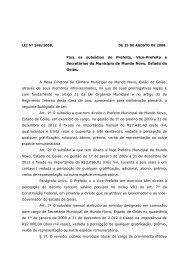 PROJETO DE LEI LEGISLATIVO Nº 004/2008, DE 06 DE AGOSTO DE