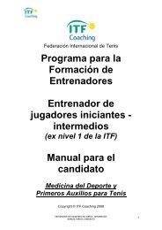 aca - Federación Colombiana de Tenis