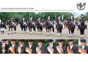 Deutsches Quadrillen Championat Biblis 27.05.2006
