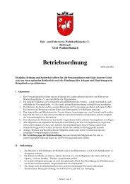 Betriebsordnung - Reit-und Fahrverein Walddorfhäslach eV