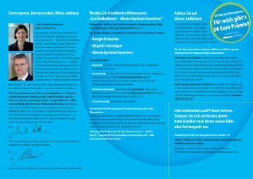 Faltblatt Abwrackaktion (PDF 727.2 KB) - Frankfurt am Main