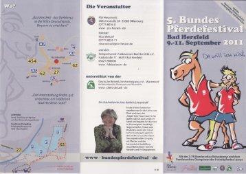 Bad Hersfeld !.-lr. $eptember :-1,)