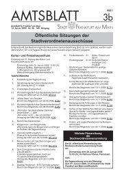 Amtsblatt Nr. 3b/2009 S. 29 - 56 (pdf [593.9 KB]) - Frankfurt am Main