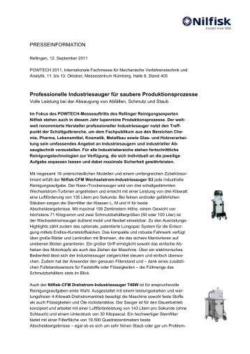 pdf-Datei. - Nilfisk-CFM