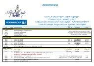 Zeitplan ALPENCUP 2013 offiziell - Turniergemeinschaft ...