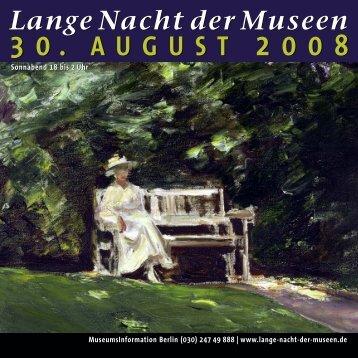 Lange Nacht der Museen - Kulturforum Berlin