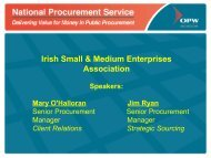 SME guide to tendering for Public Sector contracts - National ...