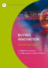 Buying Innovation - The 10 Step Guide to Smart ... - eTenders