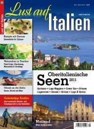 Lust auf Italien Oberitalienische Seen 2015 / 3 Leseprobe