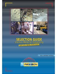 SELECTION GUIDE SELECTION GUIDE