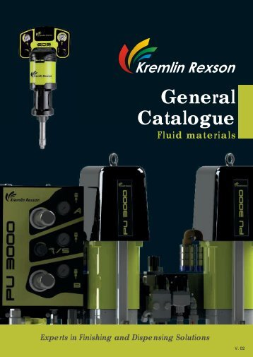 General catalogue - Fluid Materials