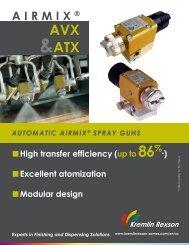 ATX & AVX Airmix® Brochure - Kremlin Rexson Sames