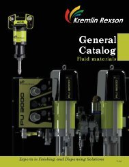 General Catalog - Fluid Materials - Kremlin Rexson Sames