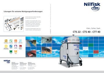 CTS 22 - CTS 40 - CTT 40 - Nilfisk-CFM