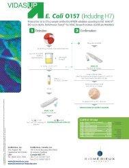 VIDAS UP E.Coli O157 (including H7) - bioMérieux - bioMerieux