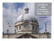 Survey of Public Sector Audit Committees