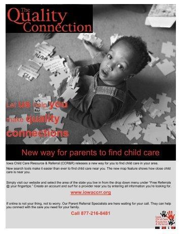 Read More - Iowa Child Care Resource & Referral
