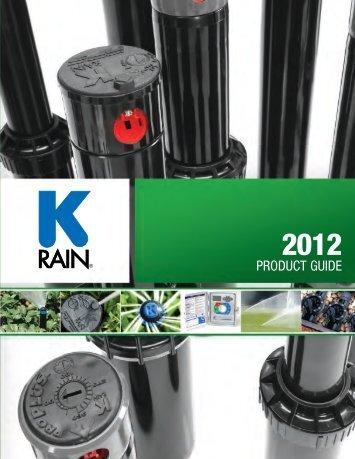 PRODUCT GUIDE - K-Rain