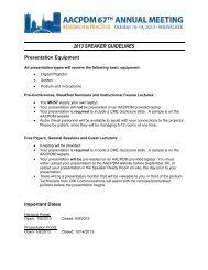 SPEAKER GUIDELINES 2013