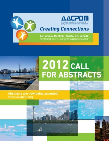 2012 Call for Abstracts booklet - American Academy for Cerebral ...