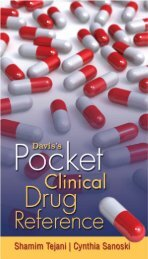 Davis's Pocket Clinical Drug Reference