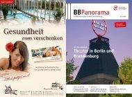 BBPanorama - VBB Verkehrsverbund Berlin-Brandenburg GmbH