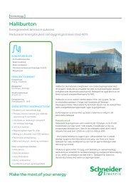 Halliburton kontor i Stavanger - Schneider Electric