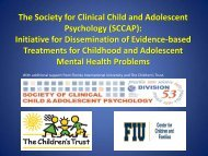 Download Slides - Effective Child Therapy Online Education
