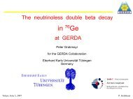 The neutrinoless double beta decay in 76Ge at GERDA