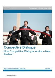 Competitive Dialogue: How Competitive ... - Business.govt.nz