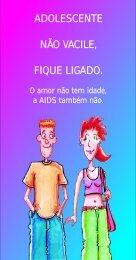 ADOLESCENTE NÃO VACILE, FIQUE LIGADO. - Prefeitura de Guaíba