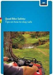 Quad Bike Safety: Tips on how to stay safe - Business.govt.nz