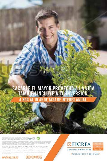 SACARLE EL MAYOR PROVECHO A LA VIDA TAMBIeN INCLUYE A TU INVERSioN.