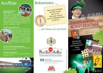 Flyer - Schützenbruderschaft Salzkotten