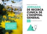 PROGRAMA DEFINITIU - Parc Sanitari Sant Joan de Déu