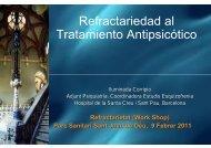 Refractariedad al Tratamiento Antipsicótico - Parc Sanitari Sant ...