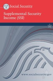 Supplemental Security Income (SSI) - Rhodes to Independence