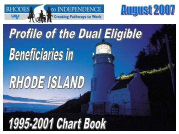 Dual Eligible Beneficiaries in Rhode Island - 1995-2001 Chart Book