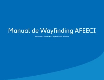 Manual de Wayfinding AFEECI