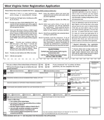 Montana Voter Registration Form - Long Distance Voter